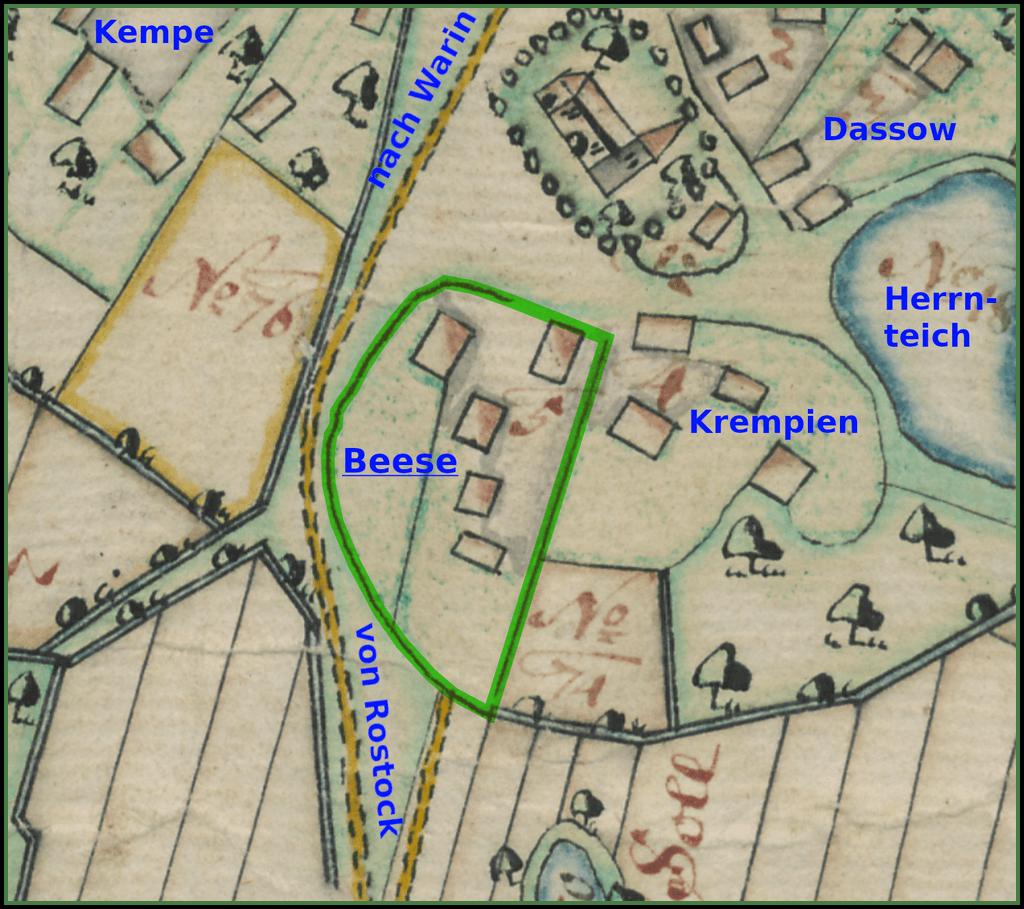Hofstelle 1751